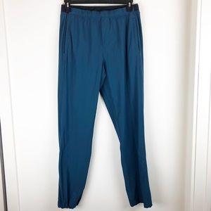Men's lululemon large pants 71% nylon blueish Teal